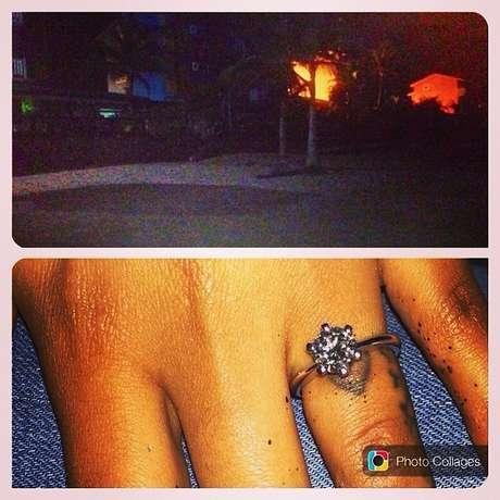 Balotelli pediu a namorada em casamento no Brasil