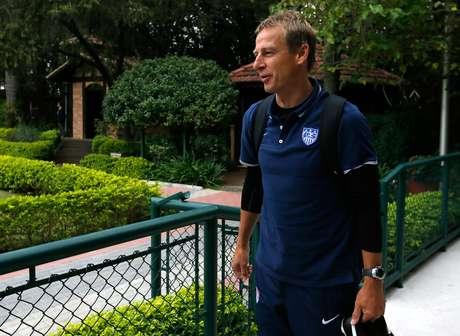 <p>Klinsmann não coloca os EUA entre os favoritos</p>