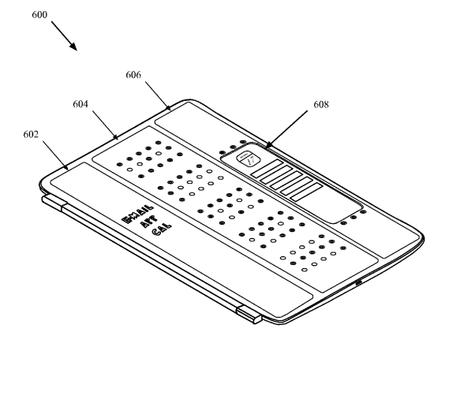 A Smart Cover modificada teria o design atual, sendo dobrada e atuando na proteção do iPad