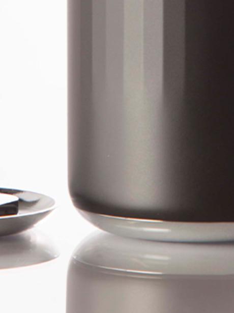 <p>Copo inteligente, Vessyl consegue mostra bebida que usuário está ingerindo por meio de um painel de LED</p>