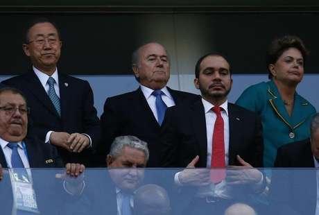 <p>A presidente foi hostilizada na abertura da Copa do Mundo</p>
