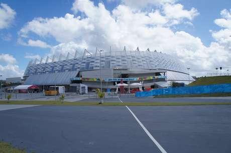 Construída a 20 quilômetros do Recife, Arena Pernambuco é de difícil acesso até mesmo para recifenses