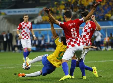 Veja fotos de Brasil x Croácia na abertura da Copa.