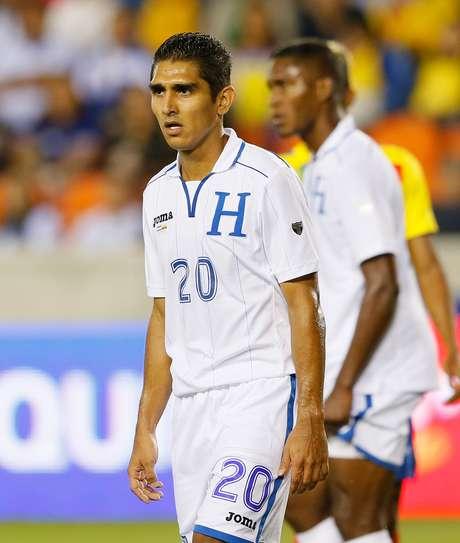 <p>Zagueiro Jorge Claro afirmou que Honduras não se conformará com nada na Copa do Mundo</p>