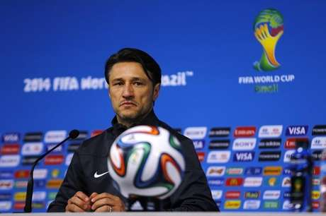 <p>Técnico da seleção da Croácia ficou irritado com o árbitro da partida</p>