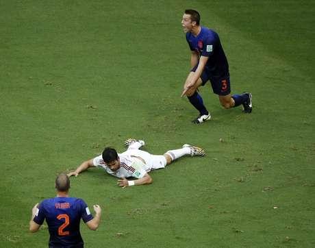 <p>Diego Costa sofreu pênalti que rendeu único gol da Espanha</p>