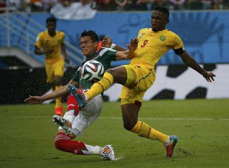 <p>Derrota de Camarões para o México é observada pela Fifa; arbitragem é suspeita</p>