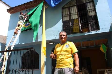 Casa de Rodney Malveira fica a poucos metros da Arena da Amazônia