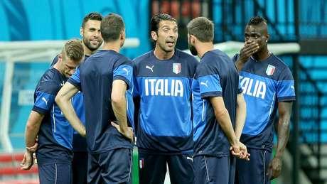 <p>Buffon vai desfalcar a Itália em Manaus</p>