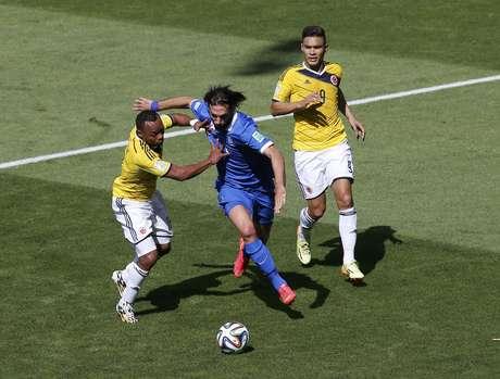 <p>Colômbia e Grécia fazem o primeiro jogo no Mineirão na Copa</p>