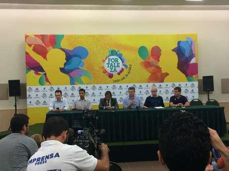 <p>Fortaleza foi uma das sedes da Copa das Confederações</p>