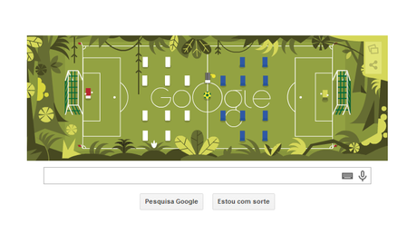 Google cria polêmica ilustrando Inglaterra x Itália em uma selva