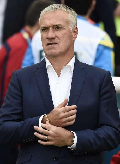 <p>Didier Deschamps ainda n&atilde;o definiu o time titular</p>