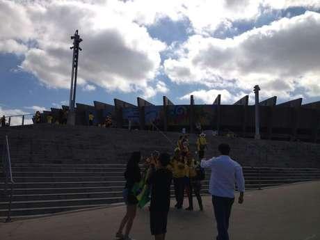 Escadas do Mineirão dificultaram acesso de deficiente na estreia de BH na Copa