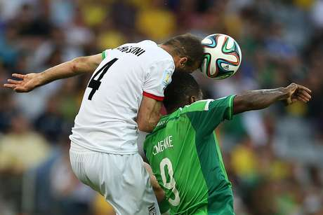 <p>Irã ficou no empate por 0 a 0 com a Nigéria em Curitiba</p>