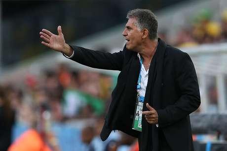 <p>Português Carlos Queiroz disse que sua equipe atua de forma defensiva porque não tem as mesmas condições das demais seleções</p>