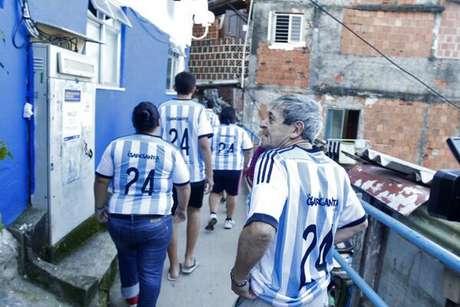 Houseman e sua legião, todos para completar a equipe argentina