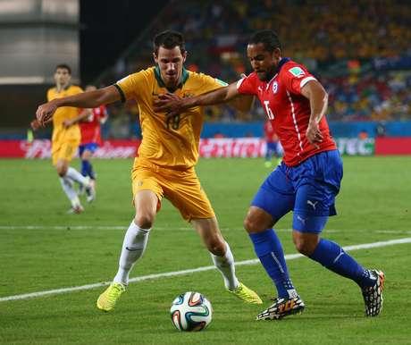 Mc Gowan assumiu a posição de titular na Austrália