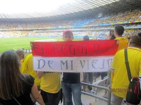En el estadio Mineirao.
