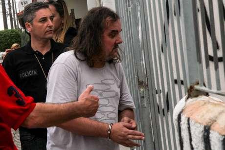 O publicitário Eduardo Martins confessou à polícia ser o autor da morte do zelador