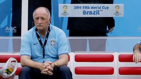 <p>O técnico Felipão abriu15 minutos de treino e não deu dicas de como vai preparar a Seleção contra o México</p>