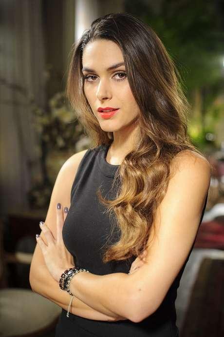 Fernanda Machado adere ao ombré hair