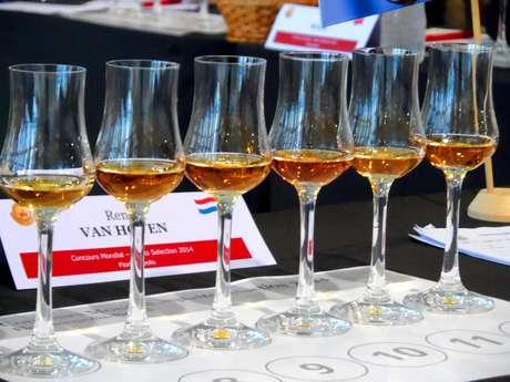 Cachaças são avaliadas durante o Concurso Mundial de Bruxelas  Spirits Selection, que deu a medalha de ouro para a Cachaça da Quinta Amburana