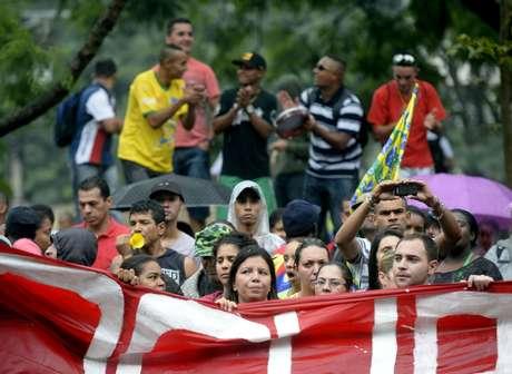 De acordo com a Polícia Militar 2, 5 mil pessoas participaram do protesto do MTST que pressionou a câmara em relação ao Plano Diretor