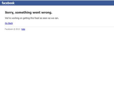 Facebook apresenta instabilidade na madrugada desta quinta