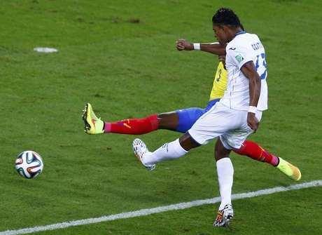 <p>Carlos Costly fez o gol solitário de Honduras</p>