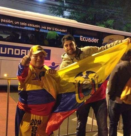 Murilo Stringari, 27 anos, já escolheu o Equador para torcer
