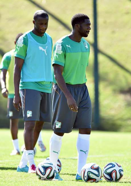 <p>Irmãos Touré estão no Brasil para a disputa da Copa do Mundo</p>