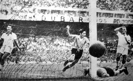<p>Ghiggia é o primeiro grande carrasco da Seleção Brasileira em Copas</p>