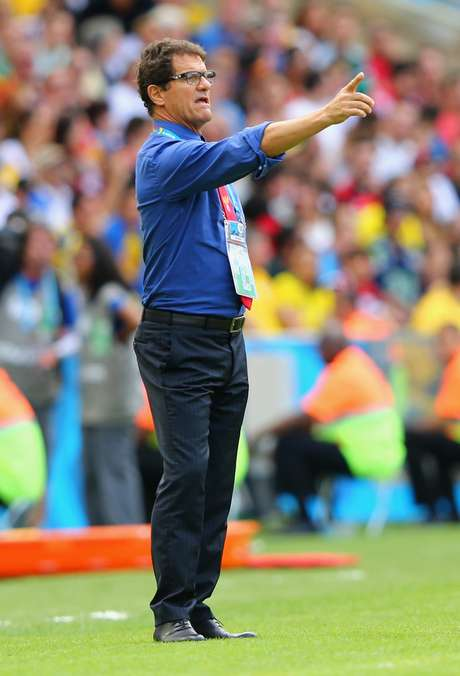 <p>Fábio Capello criticou Luiz Felipe Scolari por declarações contra Fifa</p>