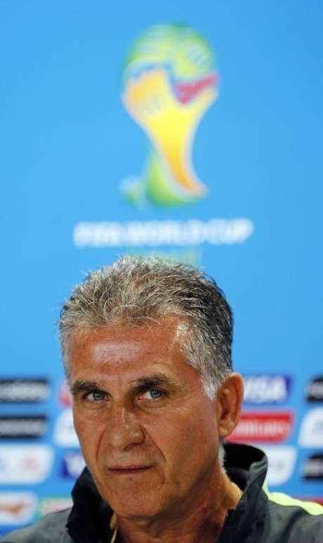<p>Carlos Queiroz, técnico do Irã</p>