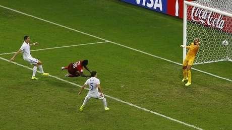 <p>Gol de Varela contra os EUA foi o marcado mais tarde no tempo regulamentar na história</p>