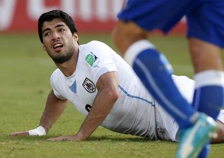 <p>Suárez virou personagem da classificação Uruguaia após a mordida em Chiellini</p>