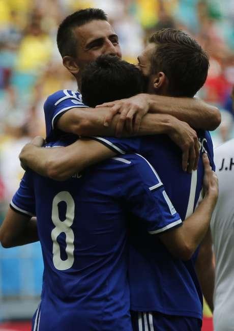 <p>Bósnia deixou a lanterna do Grupo F em sua última partida</p>