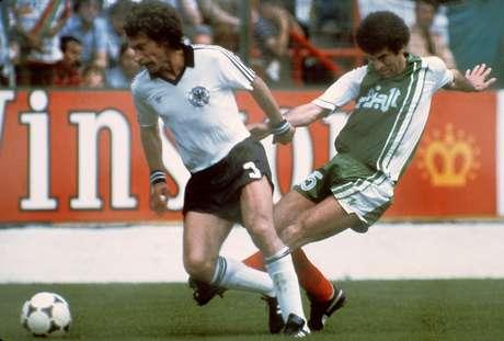 Em 1982, a Alemanha de Paul Breitner venceu a Áustria por 1 a 0, resultado que classificava ambos