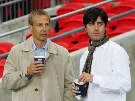 Jurgen Klinsmann e Joachim Low são amigos de longa data