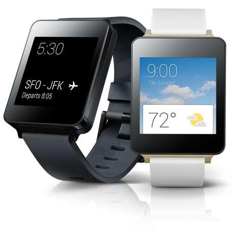 O G Watch tem bateria de 400 mAh, também é compatível com dispositivos Android 4.3 e superiores, e custa US$ 229 nos Estados Unidos