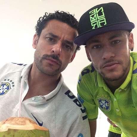 <p>Neymar e Fred mantém bom relacionamento fora de campo; retrospecto da dupla é bom com a Seleção</p>