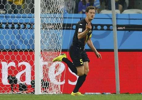 <p>Bélgica abre placar na Arena Corinthians, em São Paulo</p>