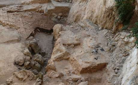 <p>Sítio arqueológico El Sal, no sul da Espanha</p>