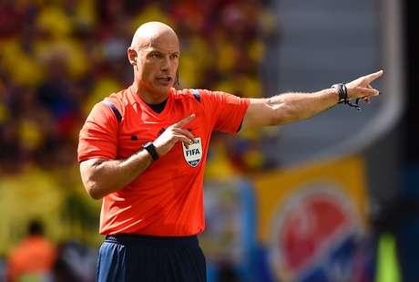 Howard Webb apitará pela segunda vez uma partida entre Brasil e Chile em uma Copa do Mundo