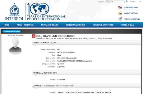 Argentino procurado pela Interpol por tráfico de drogas foi preso na Bahia na quinta-feira