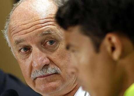 <p>Felipão aposta em clima mais ameno diante dos colombianos</p>