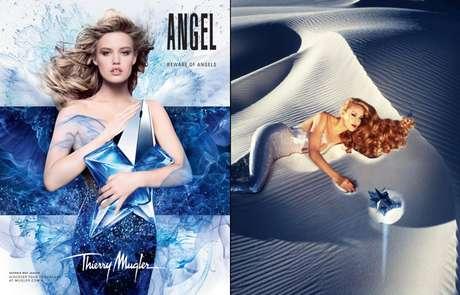 <p>A modelo se sentiu honrada em representar mesmo perfume que a mãe foi estrela nos anos 1990</p>