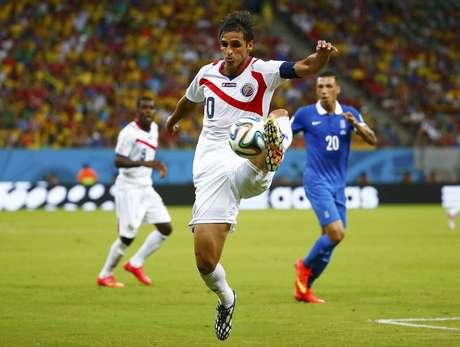 <p>Camisa 10 marcou o gol costarriquenho e converteu sua cobran&ccedil;a nos p&ecirc;naltis</p>