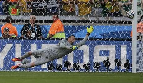 <p>Brasil venceu após as cobranças de pênaltis contra o Chile</p>